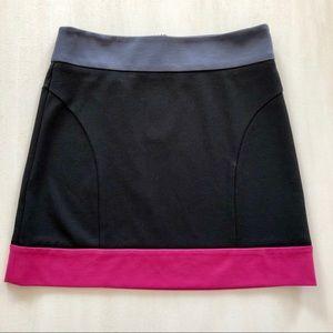 BCBGeneration Black, Magenta and Gray size 8 skirt